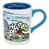 Disney Coffee Cup - Walt Disney World - Four Parks Sketch