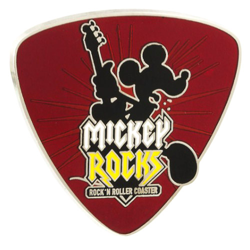 Disney Pin Rock N Roller Coaster Mickey Rocks