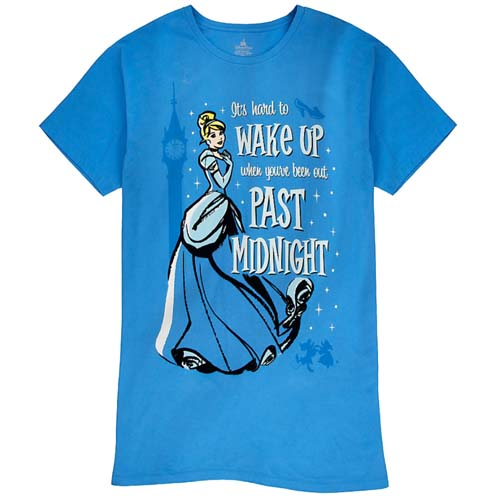 043f8deb04 Disney Ladies Nightshirt - Cinderella - It s Hard to Wake Up