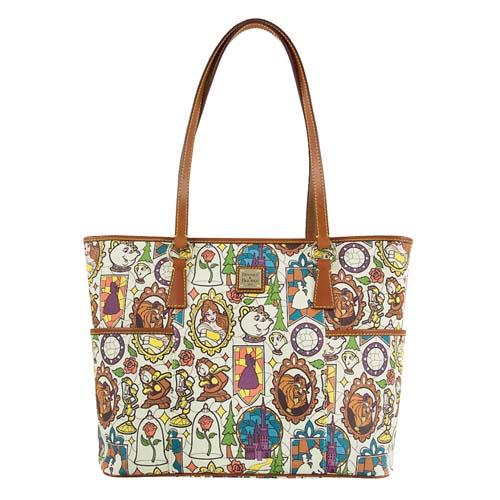 Disney Dooney   Bourke Bag - Beauty and the Beast - Shopper Tote 1f225e842d09c