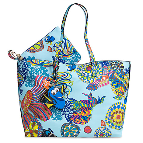 Disney Tote Bag Purse Finding Dory By Trina Turk