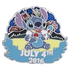 Disney Independence Day Pin - 2016 Stitch - July 4th 2016