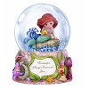 Disney Precious Moments Snowglobe - Ariel - Wonderful Things Surround You