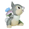Disney Precious Moments Figurine - Friendship Flowers Baby Thumper