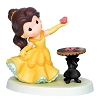 Disney Precious Moments Figurine - He Loves Me Belle Holding a Rose