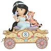 Disney Precious Moments Figurine - Birthday Parade  Number 8 - Jasmine