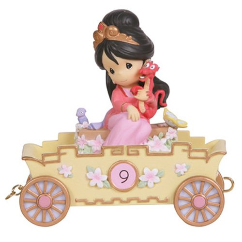 Disney Precious Moments Figurine - Birthday Parade Number 9 - Mulan