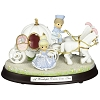 Disney Precious Moments Figurine - Cinderella Coach Musical with Base