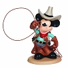 Disney Precious Moments Figurine - Cowboy Mickey