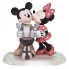 Disney Precious Moments Figurine - Mickey and Minnie Grilling