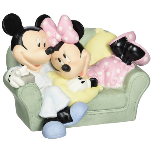 Your WDW Store - Disney Precious Moments Figurine - Mickey and ...