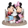 Disney Precious Moments Figurine - Mickey and Minnie on Park Bench