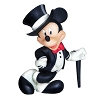 Disney Precious Moments Figurine - Mickey in Tuxedo