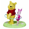 Disney Precious Moments Figurine - Pooh and Piglet Hoola Hooping