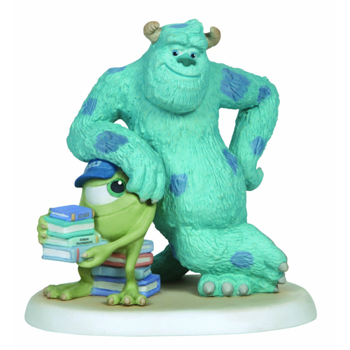 Disney Precious Moments Figurine - Sully Leaning on Mike