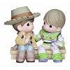 Disney Precious Moments Figurine - Woody and Buzz Light Year