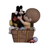 Disney Precious Moments Figurine - Boy in Toy Chest Holding Mickey