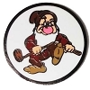 Disney Golf Ball Marker Clip with Marker LBV Grumpy Dwarf Yardage Coin