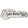 Disney Golf Ball Marker LBV Disney's Lake Buena Vista Course - Black