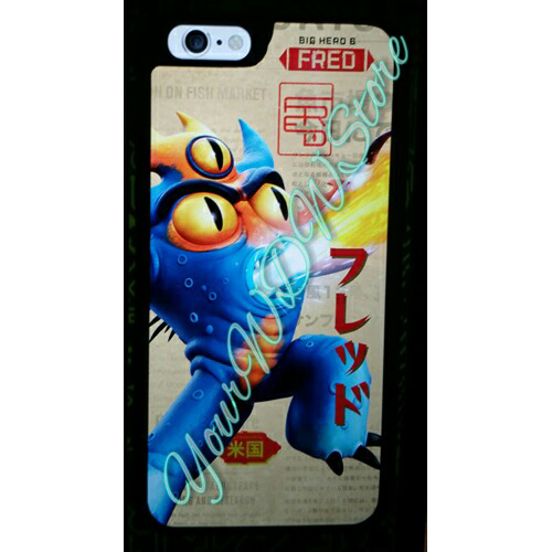 Disney Customized Phone Case - Big Hero 6 - Fred