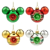 Disney Christmas Ornament Set - Mickey Mouse Ears Icons - Retro