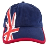 Disney Baseball Cap Hat - Epcot World Showcase - United Kingdom Flag
