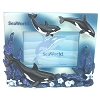 SeaWorld Photo Frame - Purple Kelp and Flowers Orca Whale 6x4