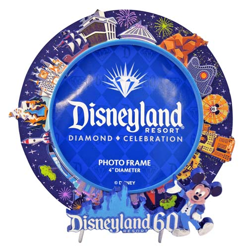 Your WDW Store - Disney Picture Frame - Disneyland 60th Diamond ...