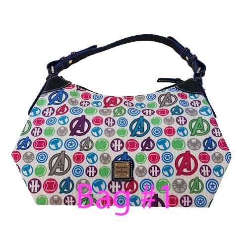 49d43e744a2 Disney Dooney   Bourke Bag - Avengers Icons Satchel - White