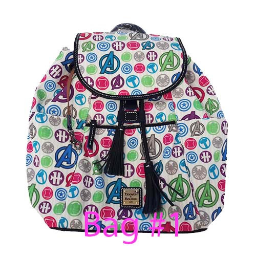 6fc04647a7 Add to My Lists. Disney Dooney   Bourke Bag - Avengers Icons Backpack ...
