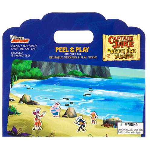Disney Peel & Play Activity Set - Jake & the Neverland Pirates