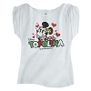 Disney LADIES Shirt - Epcot World Showcase Italy - Minnie Topolina