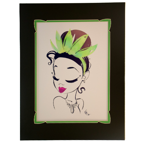 Disney Artist Print - Whitney Pollett - Look Out Boys I'm Comin' Through