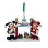 Disney Christmas Ornament - Santa Mickey & Minnie Walt Disney World Gate