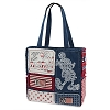 Disney Tote Bag - Mickey Mouse Patchwork - Americana Mickey