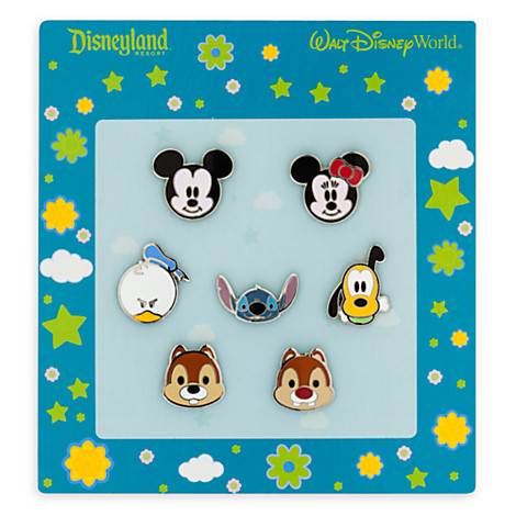 Donald! Disney Pin Cute *Cuties* Mickey /& Friends Faces Mini Collection
