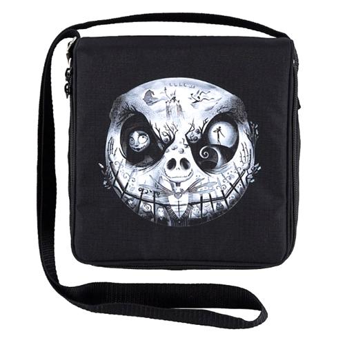 Disney Pin Bag - Jack Skellington Graveyard Face