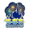 Disney Toy Story Pin - Little Green Aliens Castle Fireworks Oooooooh!