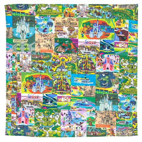 Disney Napkin - Retro Magic Kingdom Map Icons on tomorrowland map, walt disney world resort, polynesian resort map, epcot center map, big thunder mountain railroad, hong kong disneyland map, cinderella castle, tokyo disneyland, universal studios florida, main street map, disneyland park map, busch gardens map, disney map, typhoon lagoon map, florida map, splash mountain, haunted mansion, tokyo disneyland map, kingdom keepers map, islands of adventure, hong kong disneyland, sleeping beauty map, adventureland map, space mountain, pirates of the caribbean, universal map, orlando map, downtown disney, new fantasyland map, disneyland paris map, animal kingdom map, seaworld orlando, tokyo disneysea map,
