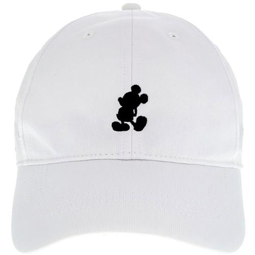 4508731e2 Disney Nike Hat - Baseball Cap - Mickey Standing - White