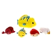 Disney Tsum Tsum Plush Set - The Little Mermaid - Flounder Bag