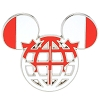 Disney Mickey Icon Pin - Global Ears Icon - Canada Flag