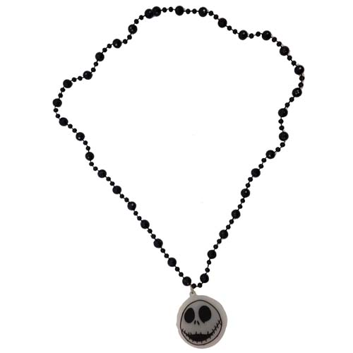 Disney Light-Up Necklace - Nightmare Before Christmas - Jack Face