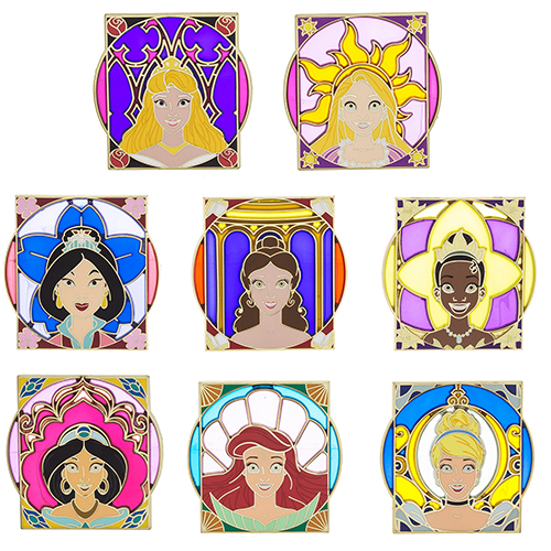 Royalty Mystery Set Cinderella Disney Pin 116908