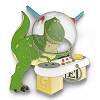 Disney Pixar Party Pin - Andy's Toy Box - Rex the Dinosaur