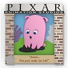 Disney Pixar Party Pin - Pixar Quotes - Pearl