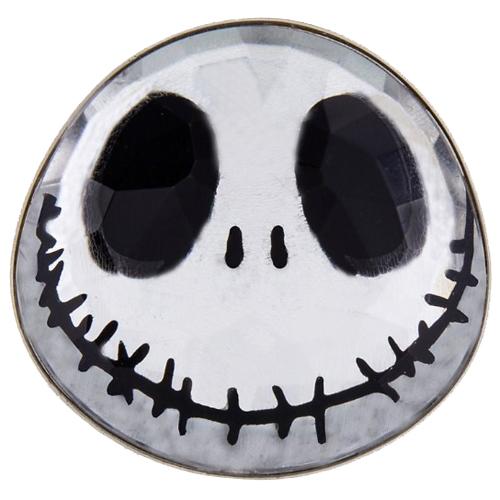 Disney Pin Sculpted 3d Jack Skellington Face