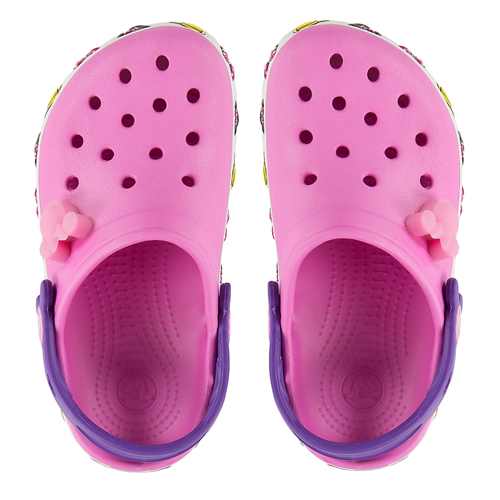 9d0724eb7 Add to My Lists. Disney Kids Crocs Shoes - Pink Light Up ...