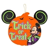 Disney Halloween Door Hanger - Vampire Mickey - Trick or Treat