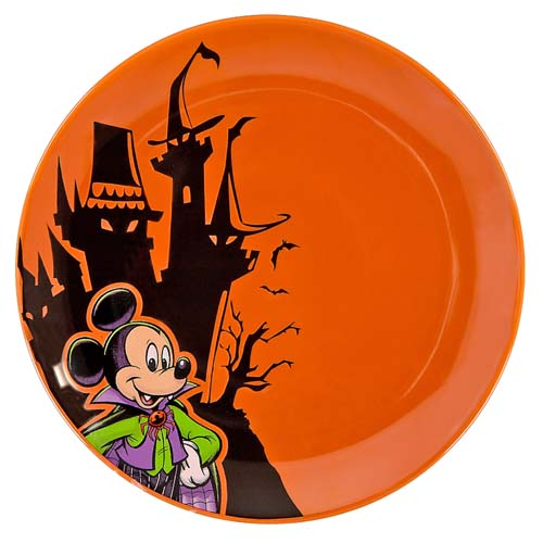 Add to Wish List  sc 1 st  Your WDW Store & Your WDW Store - Disney Halloween Dessert Plate - Vampire Mickey Mouse